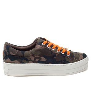 J/SLIDES Hippie Neon Camo Sneakers